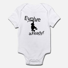 Evolve already Monkey Infant Bodysuit
