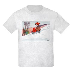 1930's Snow Fun #4 T-Shirt