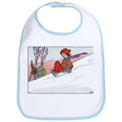1930's Snow Fun #4 Bib