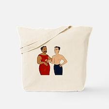 Trans Hotch Tote Bag