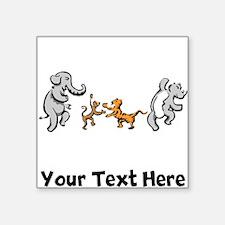 Dancing Animals (Custom) Sticker