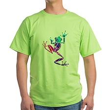 Crazy Purple Tree Frog T-Shirt