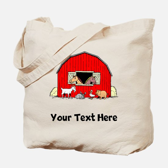 Barn Animals (Custom) Tote Bag
