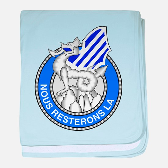 3rd Infantry Division baby blanket