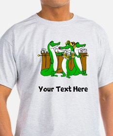 Alligators At Bar (Custom) T-Shirt