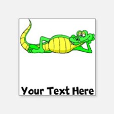 Alligator Posing (Custom) Sticker