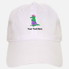 Alligator In Shower Baseball Baseball Cap (Custom) Baseball Baseball Baseball Cap