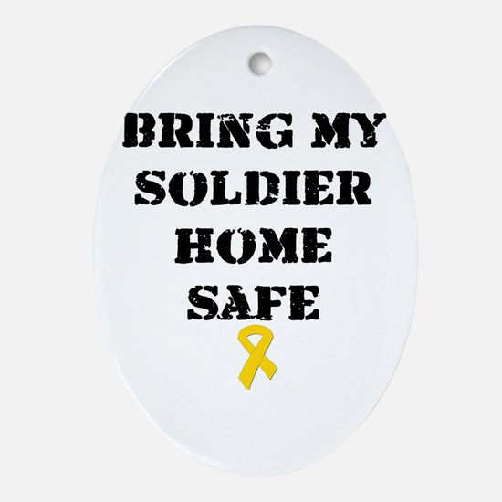 """Bring my soldier home safe"" (Ornament)"