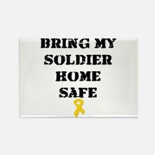 """Bring my soldier home safe"" (Magnet)"