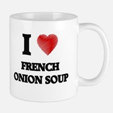 I love French Onion Soup Mugs