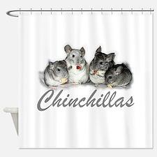 Chinchillas Shower Curtain
