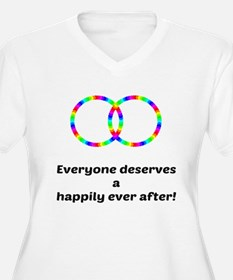 Happily Ever After Plus Size T-Shirt