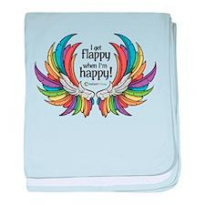 Autism Wings - Flappy/Happy! baby blanket