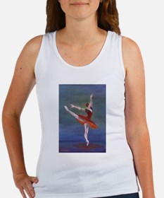 Red Ballelrina Tank Top