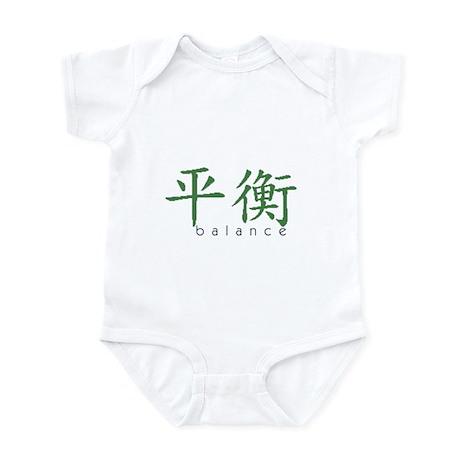 Chinese Symbol Balance Infant Bodysuit