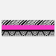 Safari: Hot Pink Sticker (Bumper)