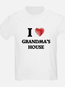 I love Grandma'S House T-Shirt