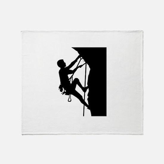 Climbing Throw Blanket