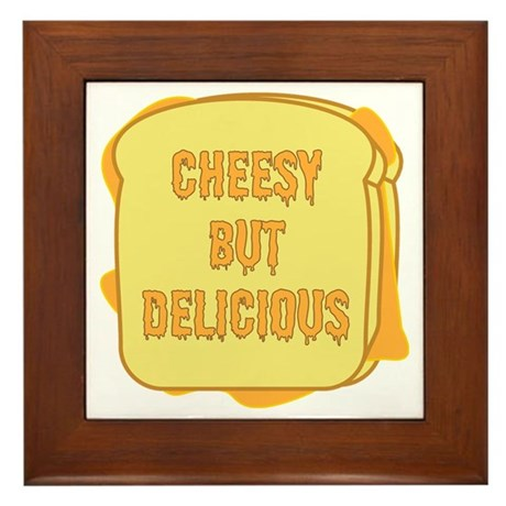 Grilled Cheese Framed Tile