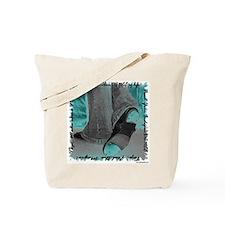 Neon Tap Feet Tote Bag