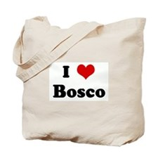 I Love Bosco Tote Bag