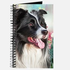 Border Collie Painting Journal