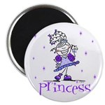 Princess in Purple Magnet