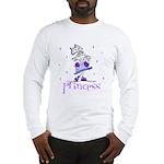 Princess in Purple Long Sleeve T-Shirt