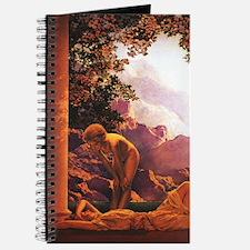 Daybreak Vertical Journal by Maxfield Parrish