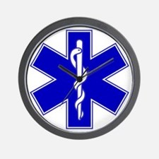 Star of Life Wall Clock