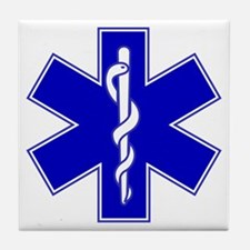 Star of Life Tile Coaster