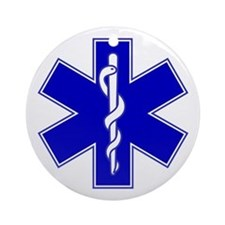 Star of Life Ornament (Round)