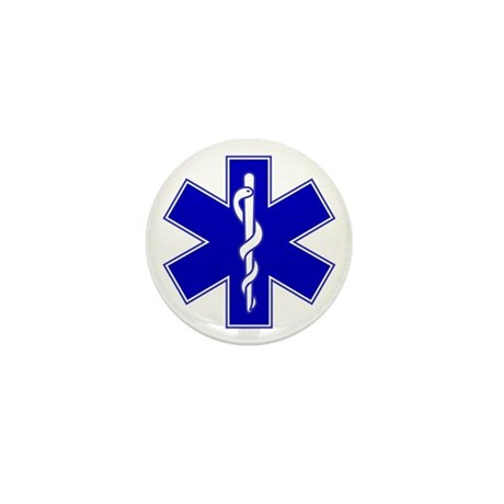 Star of Life Mini Button (100 pack)