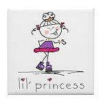lil' princess 2 Tile Coaster
