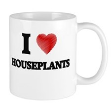 I love Houseplants Mugs