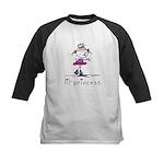 lil' princess 2 Kids Baseball Jersey