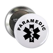 """Paramedic Star Of Life 2.25"""" Button (10 pack)"""