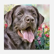 Labrador Painting Tile Coaster