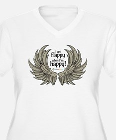 Autism Wings Plus Size T-Shirt