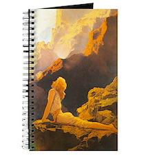 Wild Geese Journal by Maxfield Parrish