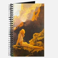 Wild Geese Journal by Maxfield Parrish