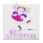Pretty Pink Princess Tile Coaster