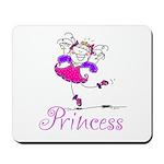 Pretty Pink Princess Mousepad