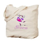 Pretty Pink Princess Tote Bag