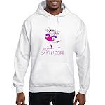 Pretty Pink Princess Hooded Sweatshirt