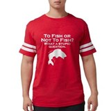Funny fishing Mens Football Shirts