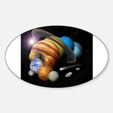 Solar System Montage Decal