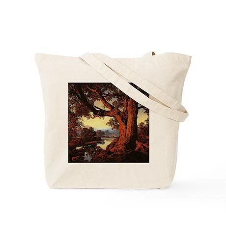 Hilltop and Riverbank Tote Bag