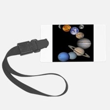 Solar System Montage Luggage Tag