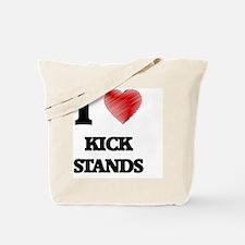 I love Kick Stands Tote Bag